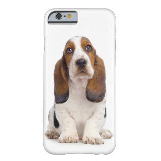 Cas de l'iPhone 6 de chiot de Basset Hound Coque Barely There iPhone 6