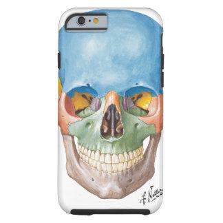 Cas de l'iPhone 6 de crâne de Netter Coque Tough iPhone 6