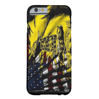 Cas de l'iPhone 6 de drapeau de Gadsden Coque iPhone 6 Barely There