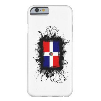 Cas de l'iPhone 6 de drapeau de la République Domi Coque iPhone 6 Barely There