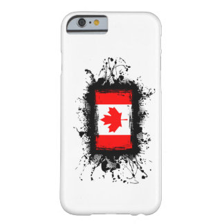 Cas de l'iPhone 6 de drapeau du Canada Coque Barely There iPhone 6