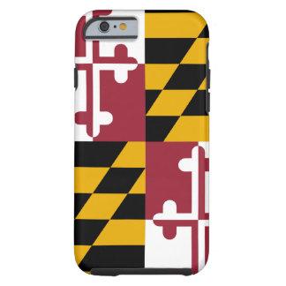 Cas de l'iPhone 6 de drapeau du Maryland Coque Tough iPhone 6