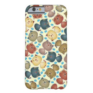 Cas de l'iPhone 6 de Kitty Kats Coque iPhone 6 Barely There