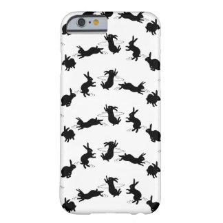 Cas de l'iPhone 6 de lapins de Binky (choisissez Coque iPhone 6 Barely There