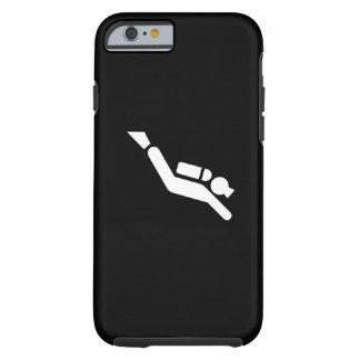 Cas de l'iPhone 6 de pictogramme de plongée à Coque iPhone 6 Tough