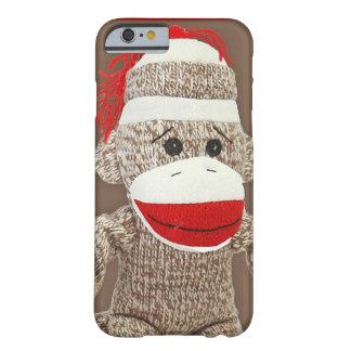 cas de l'iPhone 6 de singe de chaussette Coque iPhone 6 Barely There