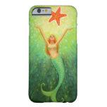 Cas de l'iPhone 6 d'étoile de s de sirène ' Coque Barely There iPhone 6