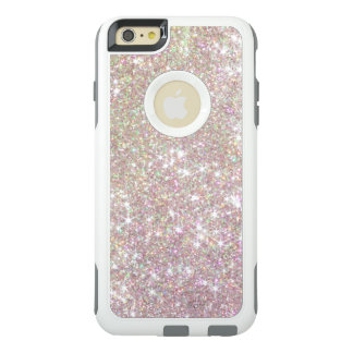 Cas de l'iPhone 6 d'Otterbox de scintillement d'or Coque OtterBox iPhone 6 Et 6s Plus