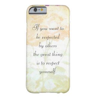 Cas de l'iPhone 6 respectez-vous de Dostoyevsky (c Coque iPhone 6 Barely There
