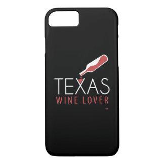 Cas de l'iPhone 7 d'amateur de vin du Texas Coque iPhone 7