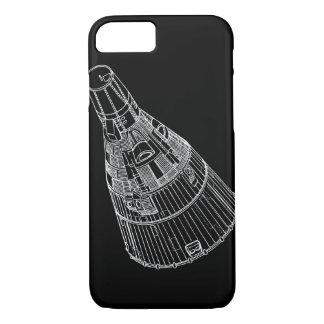 Cas de l'iPhone 7 de capsule de Gémeaux Coque iPhone 7