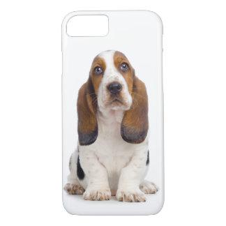 Cas de l'iPhone 7 de chiot de Basset Hound Coque iPhone 7