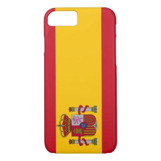 Cas de l'iPhone 7 de drapeau de l'Espagne Coque iPhone 7