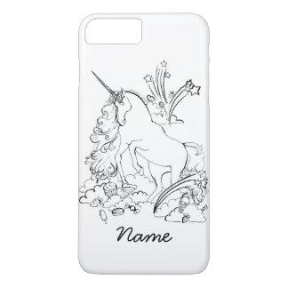 Cas de l'iPhone 7 de licorne Coque iPhone 7 Plus