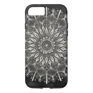 "Cas de l'iPhone 7 ""de mandala vintage"" - Coque iPhone 8/7"