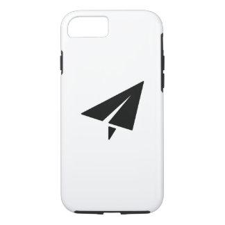 Cas de l'iPhone 7 de pictogramme d'avion de papier Coque iPhone 7