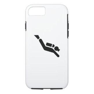 Cas de l'iPhone 7 de pictogramme de plongée à Coque iPhone 7