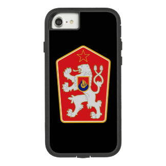 Cas de l'iPhone 7 d'emblème de la Tchécoslovaquie Coque Case-Mate Tough Extreme iPhone 7