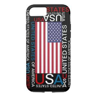 Cas de l'iPhone 7 des Etats-Unis d'Amérique Coque iPhone 7