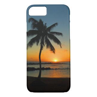 Cas de l'iPhone 7 d'Hawaï Kauai - coucher du Coque iPhone 7