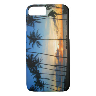 Cas de l'iPhone 7 d'Hawaï Kauai - lever de soleil Coque iPhone 7