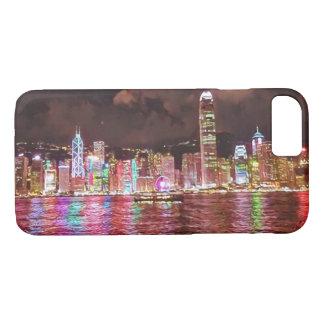 Cas de l'iphone 7 d'horizon de Hong Kong Coque iPhone 7