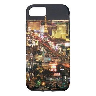 Cas de l'iPhone 7 d'horizon de nuit de Las Vegas Coque iPhone 7