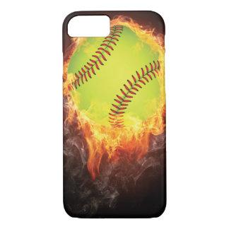 Cas de l'iPhone 7 du base-ball Coque iPhone 8/7