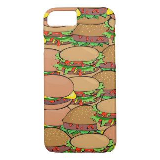 Cas de l'iPhone 7 du monde de cheeseburger Coque iPhone 7