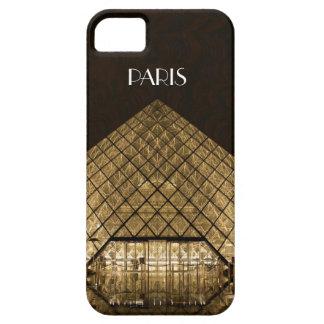 Cas de l'iPhone SE/5/5S de pyramide de Louvre à Étuis iPhone 5