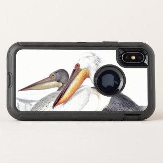 Cas de l'iPhone X d'Apple de faune d'oiseaux de