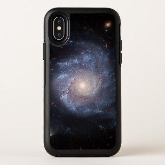 Cas de l'iPhone X d'OtterBox de la galaxie en