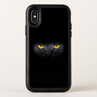 Cas de l'iPhone X d'OtterBox de plots
