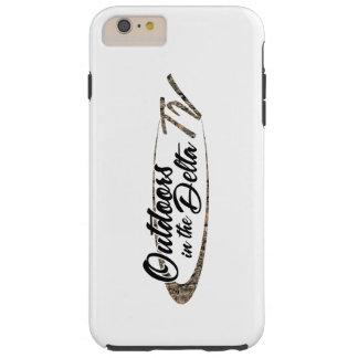Cas de logo de Camo Coque Tough iPhone 6 Plus