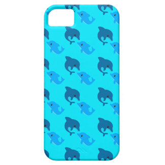 Cas de motif de dauphin coques iPhone 5 Case-Mate