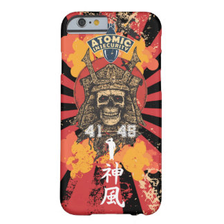 Cas de noir du Japon de shogoun de kamikaze Coque Barely There iPhone 6