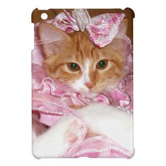 Cas de port d'iPad de robe de chaton mini Étui iPad Mini