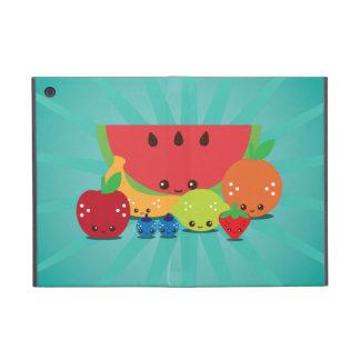 Cas de Powis d'iPad de groupe de fruit de Kawaii m Coques iPad Mini