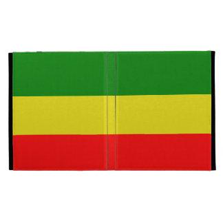 Cas de Rasta Caseable Coques iPad Folio