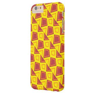 Cas de rouge et de jaune coque barely there iPhone 6 plus
