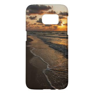 Cas de Samsung S7 - lever de soleil de plage Coque Samsung Galaxy S7