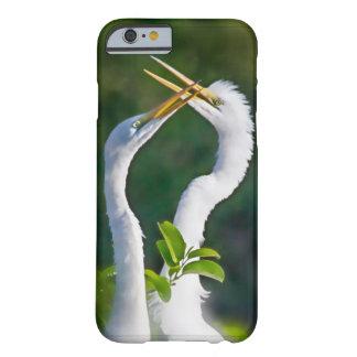 cas de téléphone d'amour de héron de l'iphone 6/6s coque iPhone 6 barely there