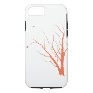 Cas de téléphone d'arbre d'automne coque iPhone 8/7