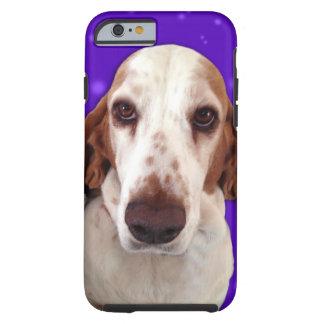 Cas de téléphone de Basset Hound Coque Tough iPhone 6
