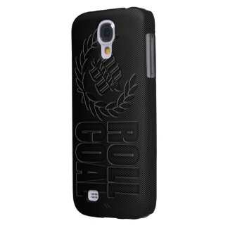 Cas de téléphone de CHARBON de PETIT PAIN Coque Galaxy S4