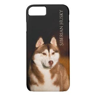 Cas de téléphone de chien de traîneau sibérien coque iPhone 7