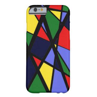Cas de téléphone de Colorway de courage par BW Coque Barely There iPhone 6