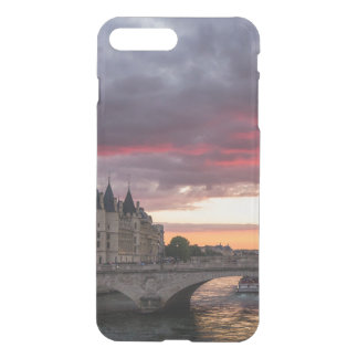 Cas de téléphone de coucher du soleil de Paris Coque iPhone 7 Plus