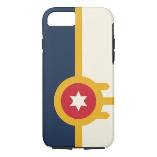 Cas de téléphone de drapeau de Tulsa Coque iPhone 7