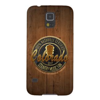Cas de téléphone de fan de musique country du protections galaxy s5